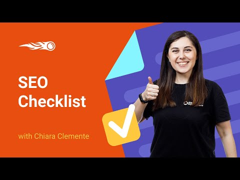 SEO Checklist: How to Get More Traffic and Rank on Google