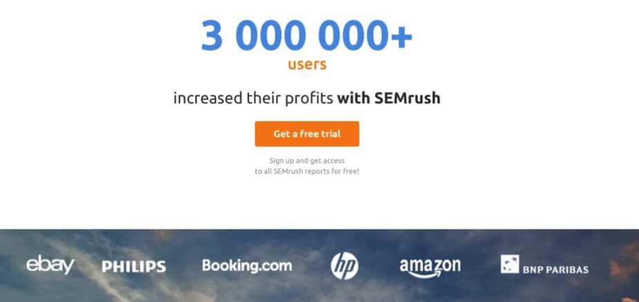 SEMrush SEO Tool to increase profits